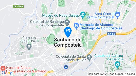 OYO Hospedaje la Tita Map