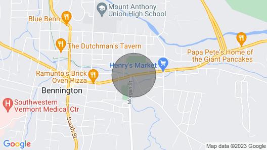 Safford Mills Inn Map