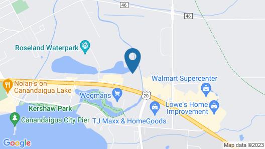 Holiday Inn Express Canandaigua - Finger Lakes, an IHG Hotel Map