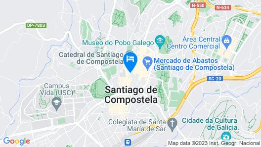 Hotel Rua Villar Map