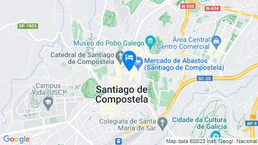 Hotel Montenegro Map