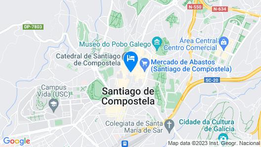 Pension Casa da Balconada Map