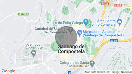Inferniño Apartments 3 Map