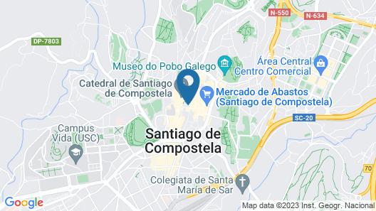 Hotel Praza Quintana Map