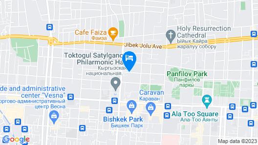 Hostel Frunze Map
