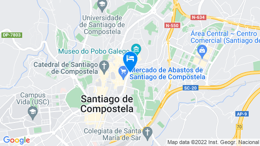 A Tafona do Peregrino Map