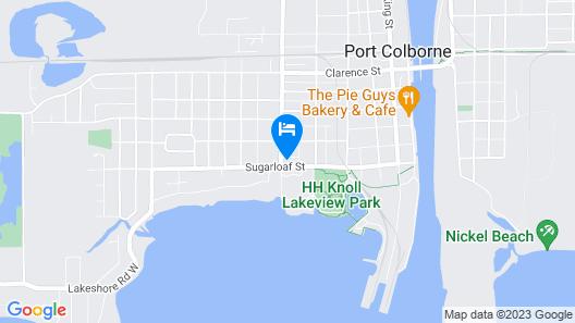 Waterfront Retreat Map