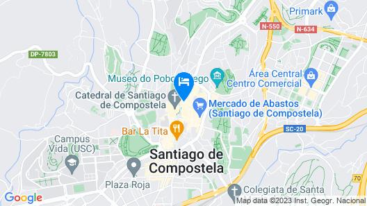 Hotel Carrís Casa de la Troya Map
