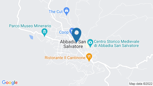 Hotel Fabbrini Map
