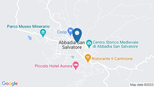 Albergo Ristorante La Bocca di Bacco Map