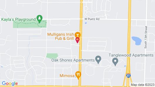 El Rancho Motel Map