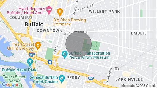 228 Beautiful Downtown Air/wifi/close to Falls Map