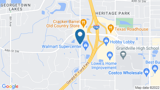 Comfort Suites Grandville - Grand Rapids SW Map