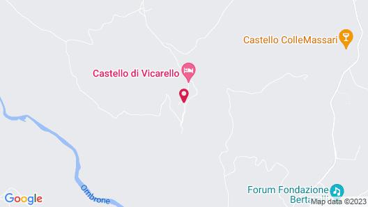 Castello Di Vicarello Map