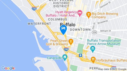 Buffalo Grand Hotel Map