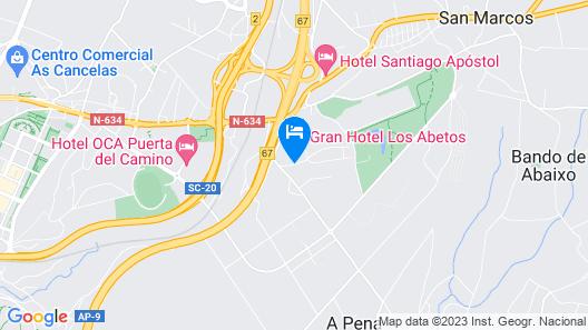 Gran Hotel Los Abetos Map
