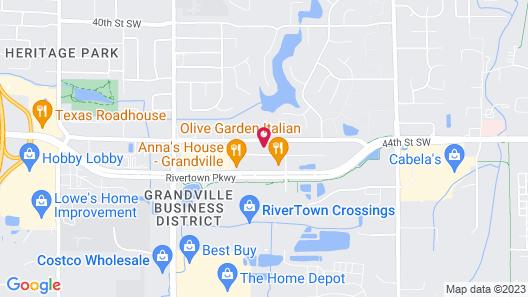 Staybridge Suites Grand Rapids SW - Grandville Map