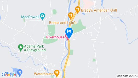 Jack Daniels Motor Inn Map