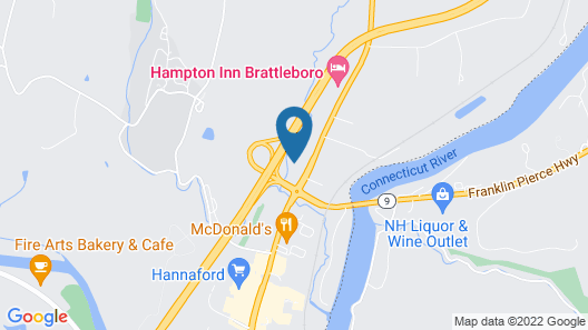 Comfort Inn & Suites Brattleboro I-91 Map