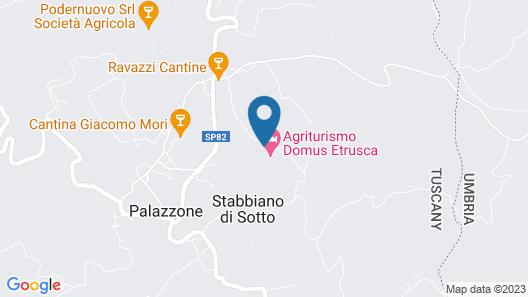 Agriturismo Domus Etrusca Map