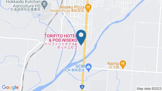 TORIFITO HOTEL&POD Niseko Map