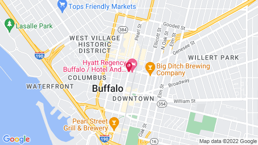 Hyatt Regency Buffalo / Hotel and Conference Center Map