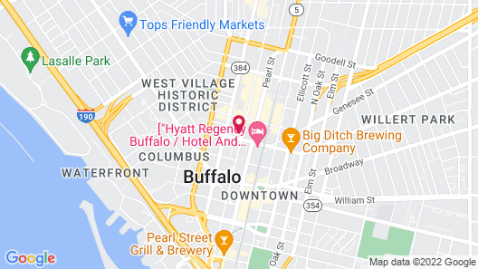 Curtiss Hotel, Ascend Hotel Collection Map