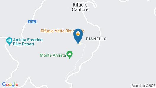 Hotel La Croce Map