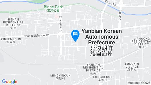 Home Inn Yanji Changbaishan Road Map