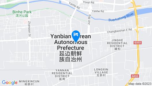 Jinjiang Inn Yanji Guanghua Road Map