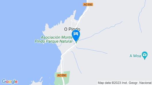 Apartment in O Pindo, A Coruna 103492 by MO Rentals Map