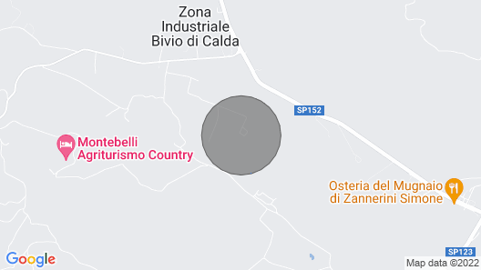 Basse Di Caldana: Ferienhaus / Villa - Basse di Caldana Map