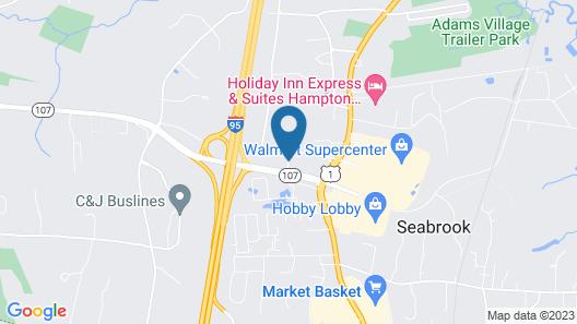 Best Western Hampshire Inn Map