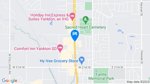 Days Inn by Wyndham Yankton SD Map