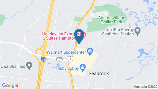 Holiday Inn Express Hotel & Suites Seabrook Map