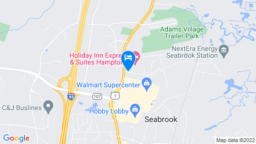 Holiday Inn Express Hotel & Suites Seabrook, an IHG Hotel Map