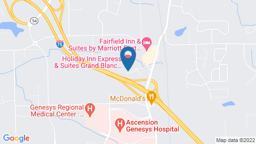 Holiday Inn Express Hotel & Suites Grand Blanc, an IHG Hotel Map