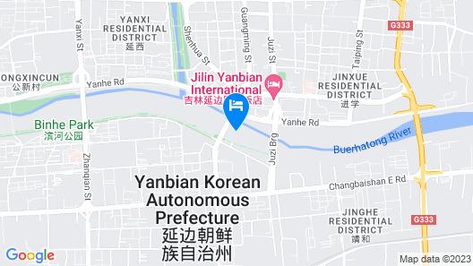 Yanbian International Hotel Map