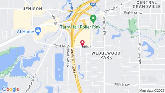 Holiday Inn Express Grand Rapids SW Map