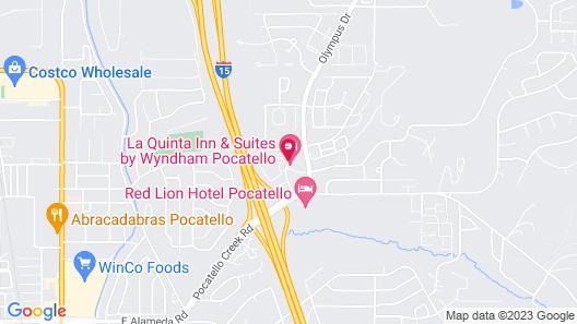 La Quinta Inn & Suites by Wyndham Pocatello Map