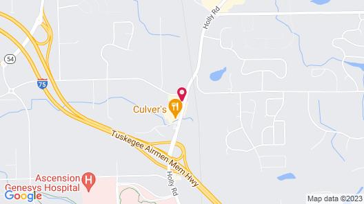 Home2 Suites by Hilton Grand Blanc Flint Map