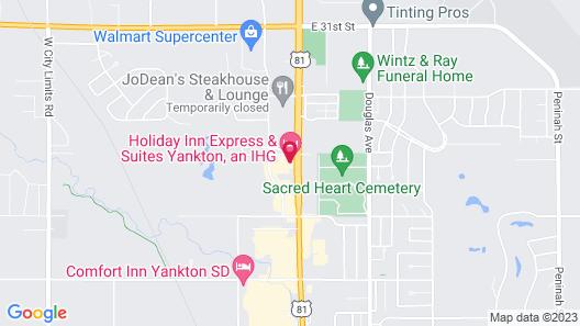 Holiday Inn Express & Suites Yankton, an IHG Hotel Map