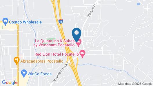 Best Western Pocatello Inn Map