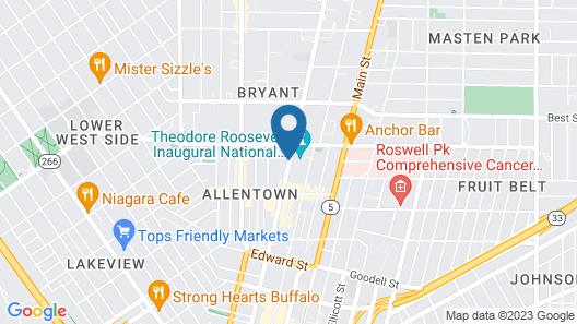Residence Inn by Marriott Buffalo Downtown Map