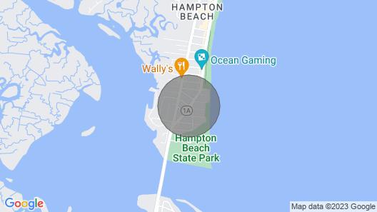 Modern Hampton Beach Condo <1/2 Mi to the Beach! Map