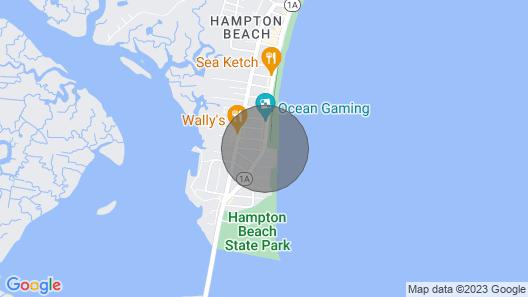 Beautiful Ocean Front Condo With Private Balcony , Hampton Beach!! Map