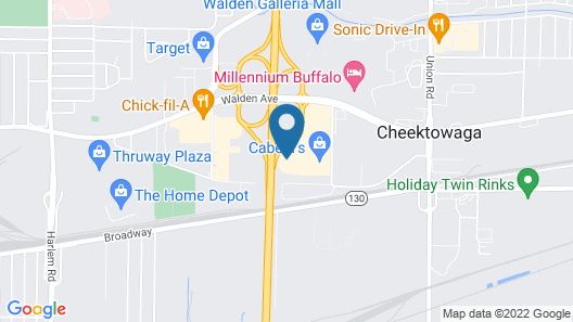 Home2 Suites by Hilton Buffalo Airport / Galleria Mall Map
