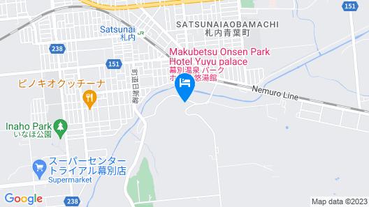 Makubetsu Park Hotel Yuyukan Map