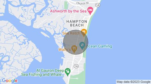 Cute Getaway Near the Beach w/ a Full Kitchen, Free Wifi, & a Furnished Deck Map