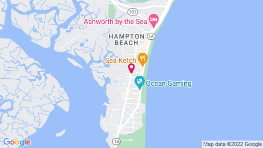The Tides Motel Map